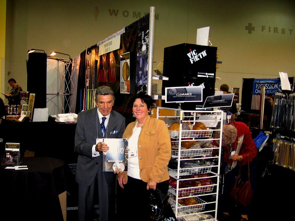 PASIC Louie Bellson Endorsed my first book
