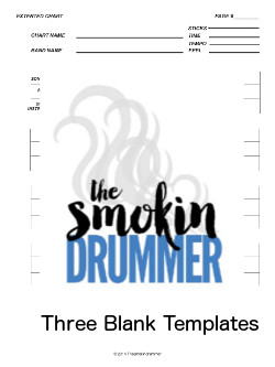 Three blank chart template pdf s song medley extended for Song structure template