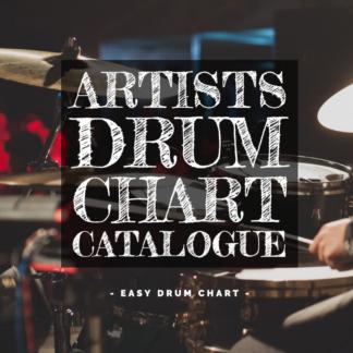 Artist Drum Chart Catalog