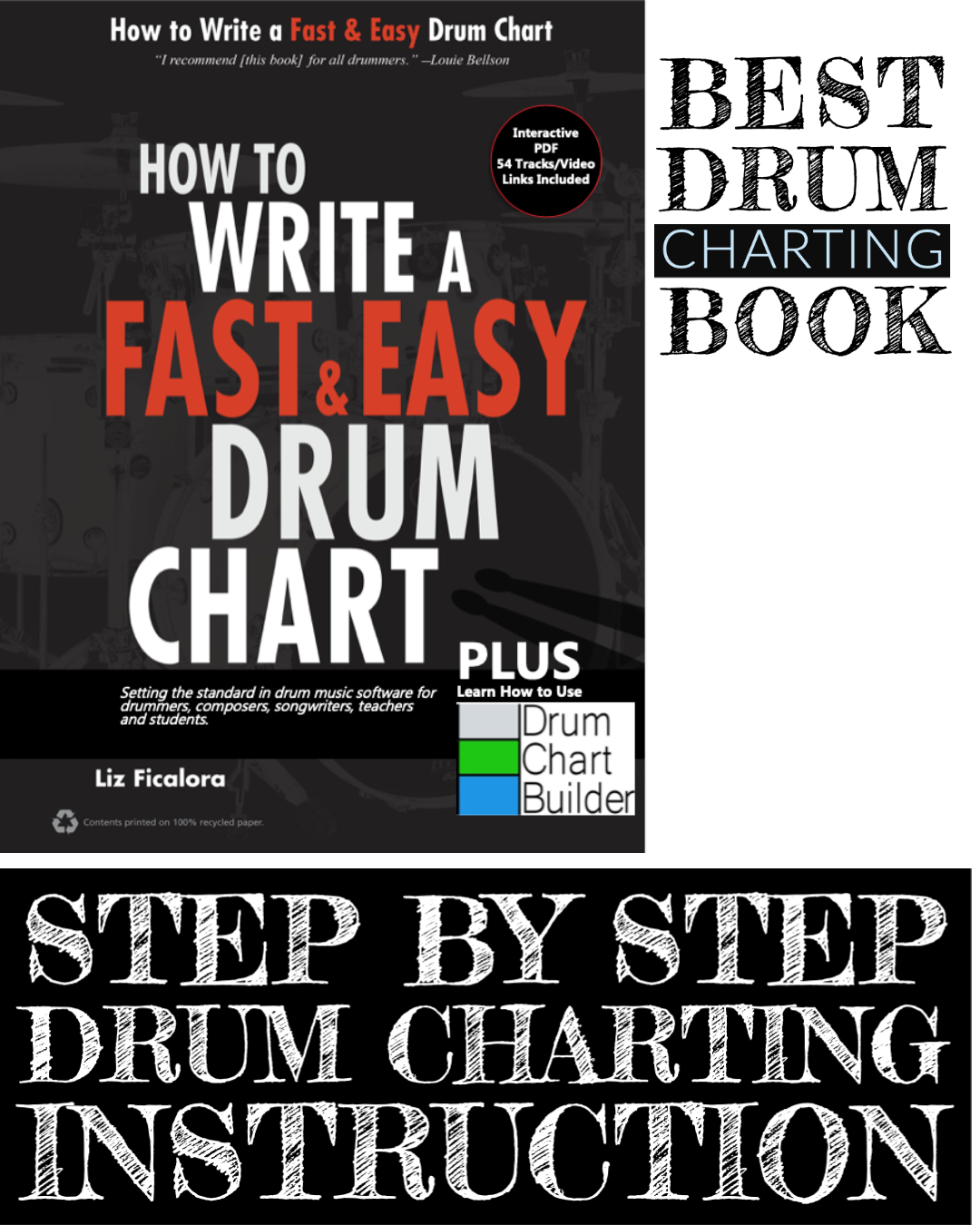 BEST DRUM CHARTING BOOK DCB SUPPORT PAGE