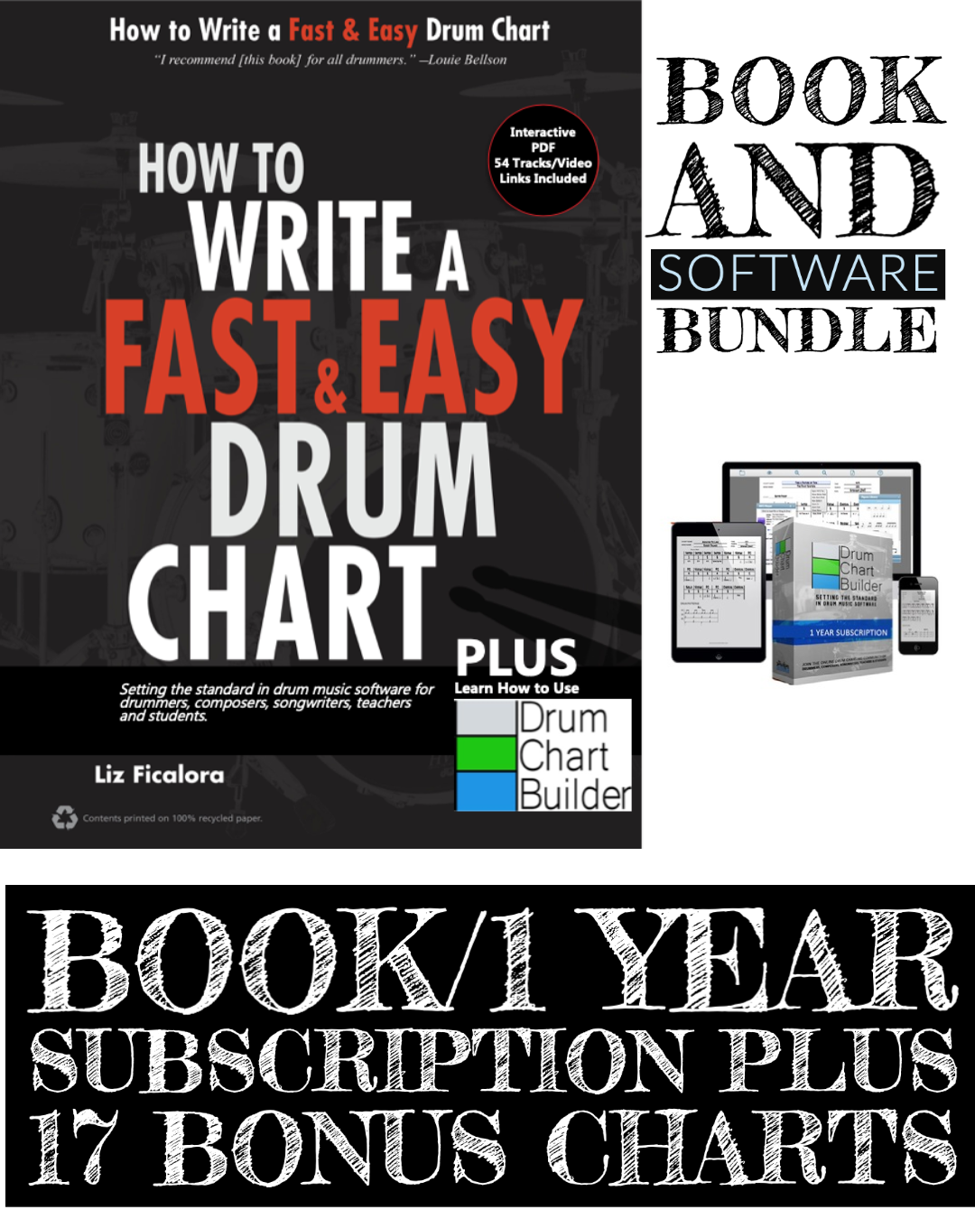 BOOK BUNDLE PLUS 17 BONUS CHARTS